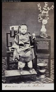 Girl with bound feet c19th century (girlboundfeetc19th) http://visualisingchina.net/#hpc-ch-s01