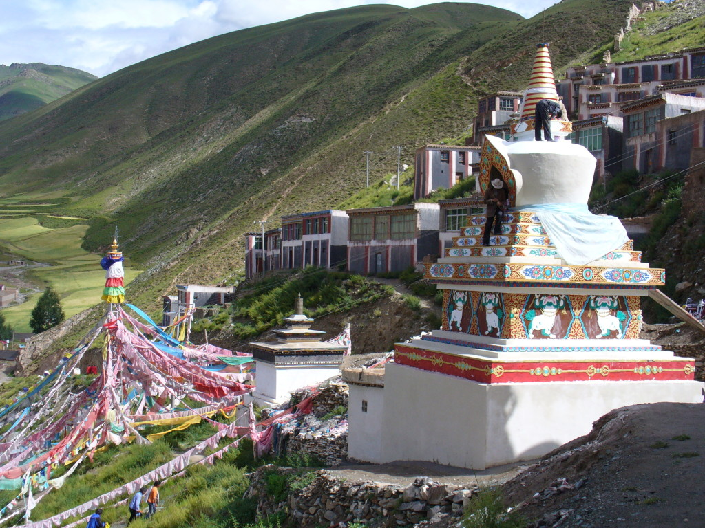 Jiegu Temple in Yushu, Qinghai