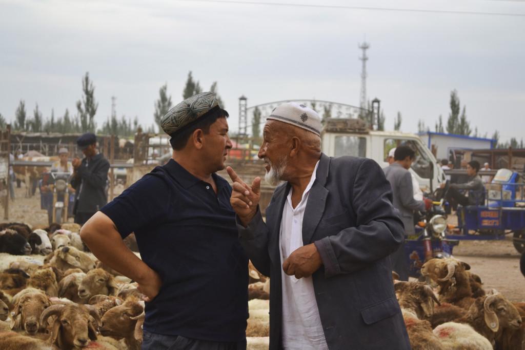 Kashgar Market Xinjiang