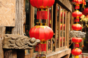 lijiang old town, architectural detail