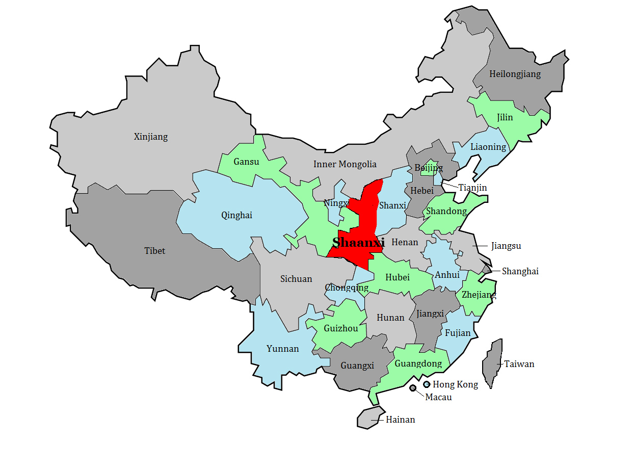 Shaanxi Province     C...