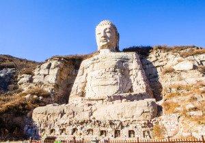 shutterstock_119192116 Shanxi, Stone carving Mengshan Buddha