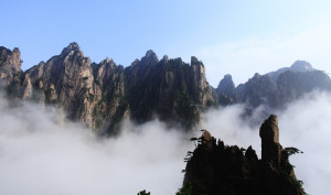 shutterstock_43573147 Anhui, HuangShan Mountain in the cloud sea