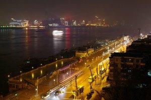 shutterstock_125156750 Hubei, Night view of Wuhan, China