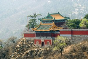 shutterstock_17435728 Hebei, Buddhist temple at Mountain resort near Chengde, Hebei province, China