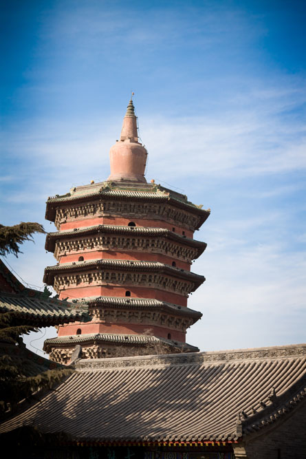 Anyang China  city pictures gallery : ... Henan, Pagoda built 1000 years ago, in Anyang City, Henan, China