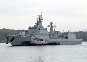 Chinese Naval Ship